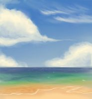 The Beach by Quackamos