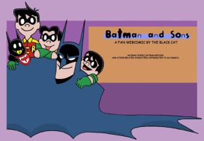 Batman and Sons Banner by The-BlackCat