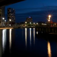 Dockland Lights by aaronius