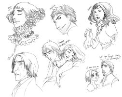 Sketches some random some not by palnk