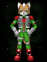 Star Fox Assault Fox McCloud by Xeno-Guardian