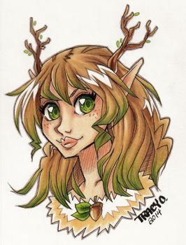 Dryad by atg