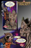Rocket And Groot by TheFireAngel