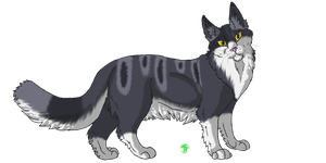 Indigopaw by TheCatsPupil