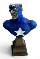 Marvel Zombies Captain America by thebiscuitboy