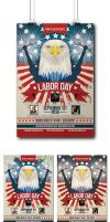Labor Day Party Flyer by Mariux10