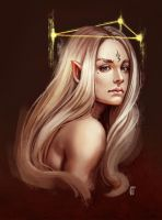 Elf by ElbenherzArt