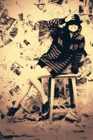 PaperGirl by Agustobillo