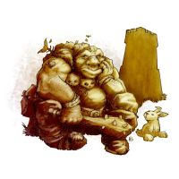 Evicted Ogre by butterfrog