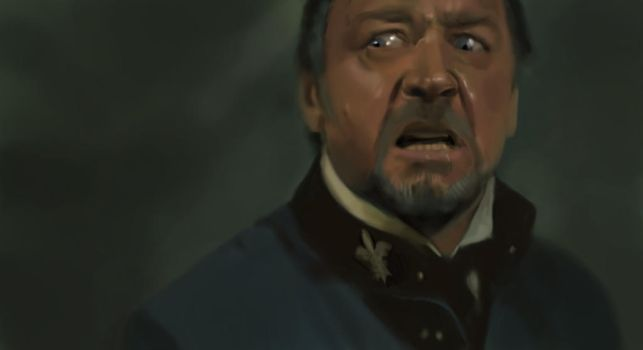 Javert Fail 1 Hour Speedpainting by TheChaoticKnight
