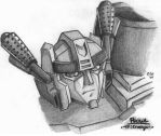 Energon Prowl Sketch No. 2 by Autobot-Windracer