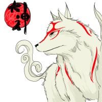 Amaterasu by TeegKetchen