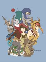 Final Fantasy Tactics by galazy