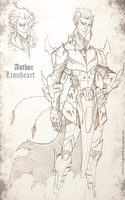Asthor Lionheart by DRAKEFORD