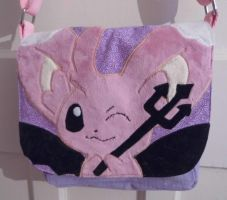 Custom Shiny Mincinno Pokemon bag by angelberries