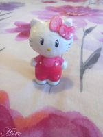Hello kitty sculpture by astre90