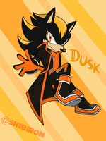 Dusk The Hedgehog - Shadow Android by TheChaosInfluence