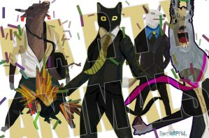 Party Animals by BombOPAUL