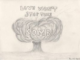 Love won't stop this bomb by MLiMLiMLi