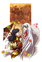 SessKag: Autumn Wind by YoukaiYume