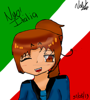 Nyo Italy by CrazyNozomi