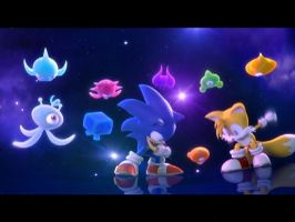 Sonic Colors Cast by AstroBoy122