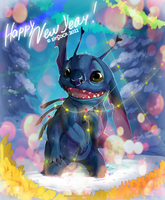 New Year Stitch by arucarrd