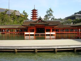 Itsukushima shrine2 by kaz0885