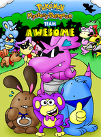 PMD-Team Awesome Cover by Panda-Commando