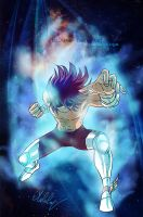 Koga - Fan art Saint seiya omega - Burn cosmos by MCAshe
