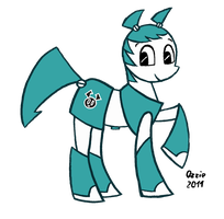 My little XJ9 by OzzieScribbler