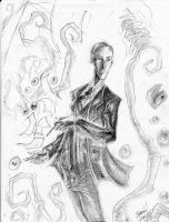 Howard Phillips Lovecraft by CorvenIcenail