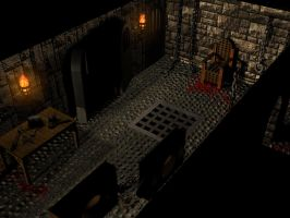 3Ds Max dungeon project b by SolidAlexei