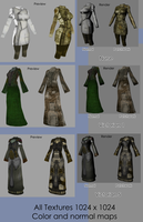 Texture - Female Poly Clothes by BlueSerenity