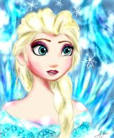 Frozen-Elsa by Nikoru-san95