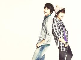 Jjong y Minho by The-world-of-Minda
