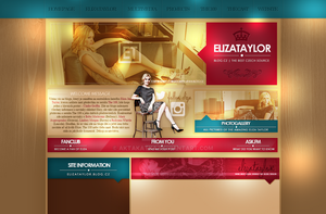 Layout with Eliza Taylor by aktakatka