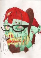 ME but.. a ZOMBIE? wuuuuuuuut? by Carthx