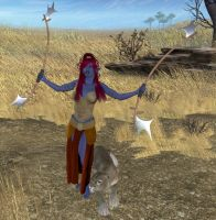 Svuka in the Barrens by katlienc