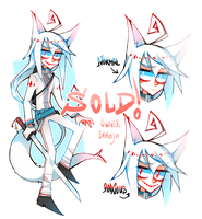 Character for sale: White Fox of Anxiety (CLOSED) by zukich