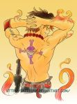 Portgas D. Ace by The-Replicant