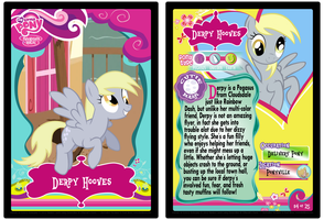 Pony Trading Cards #4: Derpy Hooves by MidnyteSketch