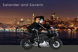 Salander and Saverin by Haveba25
