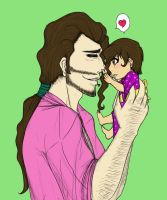 Daddy Daughter Love by Tiniest-Peach-Dragon