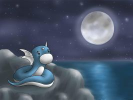 Fullmoon Dratini by TeeN-GirL-2010