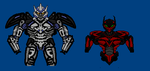 Unfinished Galvatron and Stinger by CosbyDaf