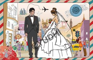 wedding (for tour and travel's agency) by kevinandy