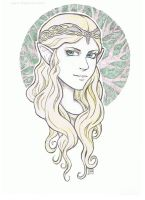 Galadriel-Colored by Ravenwolfe0