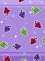Grape Party -wallpaper for iPad by sosogirl123