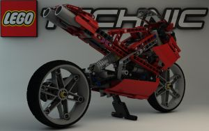 LEGO TECHNIC Street Bike 8420 I by Dracu-Teufel666